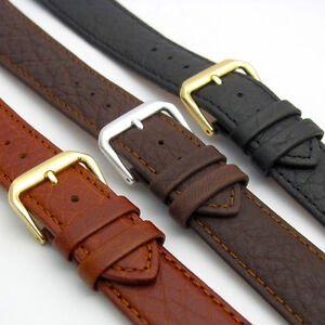 Comfortable Camel Grain Leather Watch Strap Band by CONDOR 18mm 20mm 051R