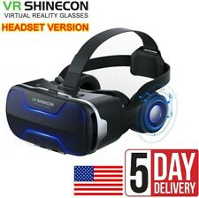 VR Box Goggles Virtual Reality Headset 3D Glasses For Android iPhone Samsung USA