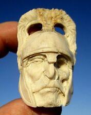 Ritter , Januskopf , skull aus Horn geschnitzt memento mori - Wunderkammer !