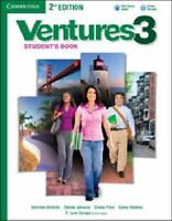 Ventures Level 3 Student's Book With Audio Cd: By Gretchen Bitterlin, Dennis ...