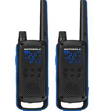 Motorola 2-Way Radio, 2-Pack, 35Mi., Blue, w/App