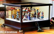 Mr Christmas Animated Illuminated Music Box with Rotating Skaters