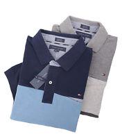 Tommy Hilfiger Men's Short Sleeve Custom Fit Striped Polo Shirt - $0 Free Ship