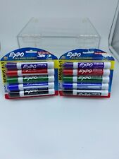 EXPO Dry Erase Markers, Chisel Tip, 4ct+1 - Core Colors 2078056 Lot of 2