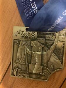 2018 Indianapolis Monumental marathon Finisher medal November 3, 2018