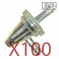 100 UNIVERSAL FUEL FILTER KAWASAKI MOTORCYCLE CLEAR INLINE GAS 90 ANGLE FILTER