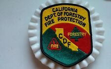 California Dept. Of Forestry Fire Protection Patch