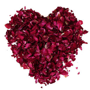 100/200g Dried Rose Petals Natural Dry Flower Petal Spa Whitening Shower B TOL8E