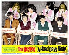 A HARD DAYS NIGHT LOBBY SCENE CARD # 9 POSTER BEATLES LENNON McCARTNEY FAB FOUR