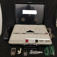 Vintage Aiwa Executive Solid State Reel to Reel Tape Recorder