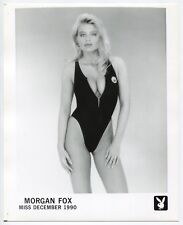 Playboy - Playmate Morgan Fox 1990 - Pin Up - 2 Photos Argentiques - Sexy -