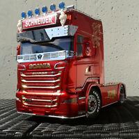 Metall Schutzgitter Front Grille für Tamiya Scania 620 470 56323 1/14 RC