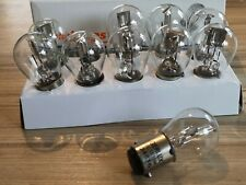 6 VOLT 15/15 WATT  classic motorcycle BULBS X 10  Made by AUTOLAMPS. P7115