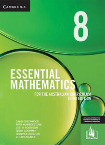 NEW Essential Mathematics for the Australian Curriculum Year 8 By David Greenwoo