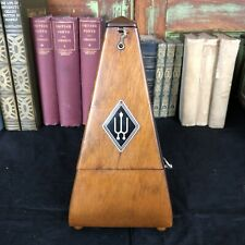 Vintage Wittner Wood Metronome Working