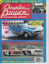 Chrysler Power Magazine March 1996 Viper Mopar Pace Cars Project Dart Dakota /b8