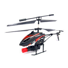 V398 Missile Launching Built-in Gyro 3.5 Channel RC Remote Control Helicopter PK