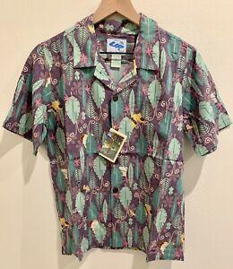 NEW MIP Reyn Spooner Disney Pixar UP CHILDREN'S Hawaiian Shirt Size L LARGE