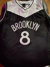 Brooklyn Nets Deron Williams Basketball Shorts Cousu Édition de la ville Blanc