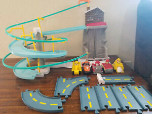 Paw Patrol Roll Patrol Rubble's Mountain Rescue Track + Racers Lot