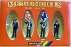 Vintage Britains #7307 U.S. AIR FORCE and #7201 Royal Marine Colour Party w/ Box