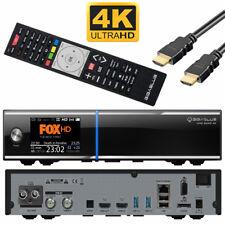 GigaBlue QUAD 4K UHD SAT-Kabel Receiver Linux E2 LCD   DVB-S2 + DVB-C/T   HDTV