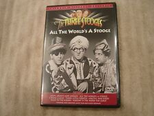 The Three Stooges DVD All The World's A Stooge