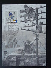 postal history telephone telecommunications maximum card Berlin 75732