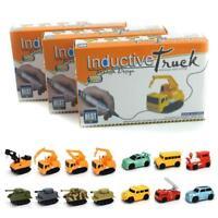 New Follow Any Drawn Line Magic Pen Inductive Toy Car Truck Bus Tank Model KS