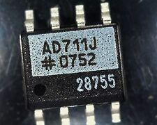 4 x AD711JRZ High speed Bi-FET op amp SO8 AD711