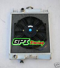 Suzuki Swift GTi/GS/GT/GL/GLX 89-1994 Aluminum Radiator & FAN MT 90 91 92 93 **