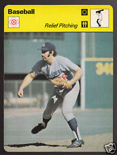 MIKE MARSHALL Los Angeles Dodgers Baseball 1978 SPORTSCASTER CARD 41-03