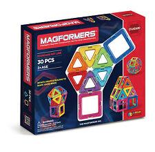 NEW! Genuine Original Magformers 30 piece set 3D Brain Development