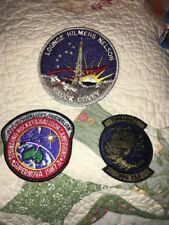 3 x Vintage Patches NASA, Airborne Military Patch 305 EAS TORNADO, Hauck Covey