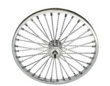 "20"" TWISTED Lowrider Bicycle Front Wheel Cruiser Chopper Bike All Chrome"