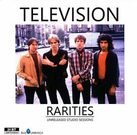 TELEVISION / RARITIES (UNRELEASED STUDIO SESSIONS) PRESS 2xCD