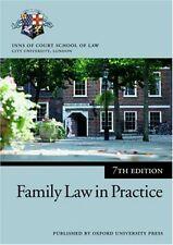 Family Law in Practice (Blackstone Bar Manual)