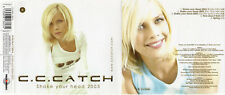 "C.C. CATCH ""SHAKE YOUR HEAD 2003"" RARE SPANISH CD MAXI / MODERN TALKING - BOHLEN"