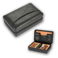 Galiner Portable Cigar Humidor Case Leather Cigar Storage Box Father Men Gift