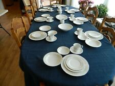 Grace Fine China of Japan Dinnerware Set for 8 with 5 Serving Pieces 9-1