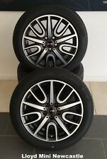 Genuine BMW MINI NEW 18'' inch JCW Night Black Alloys Wheels Set 36106870873
