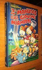 2° MANUALE DELLE GIOVANI MARMOTTE-MONDADORI-VARIANT COVER- WALT DISNEY-1983-