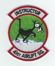 "41st AIRLIFT SQUADRON ""INSTRUCTOR"" patch"