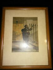"""1853 GEORGE BAXTER Print The Morning Call"""" Picturing Chimney Sweep SEE DETAILS"""