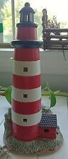 Ceramic Decorative Lightable Lighthouse Seaside Wonders
