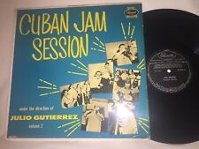 JULIO GUTIERREZ - CUBAN JAM SESSION VOL 2 RARE 1960 PANART RECORDS JAZZ LATIN LP