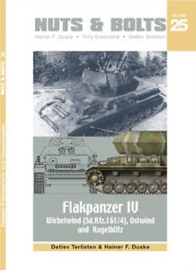 Nuts & Bolts Vol.25   Flakpanzer IV Wirbelwind (SdKdz. 161/4) Ostwind Kugelblitz