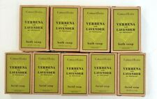 Lot of 9 New CRABTREE & EVELYN, VERBENA and LAVENDER Bath and Facial Soap Bars