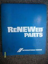 Original 1974 IH International Harvester Renewed Parts for Motor Trucks Book