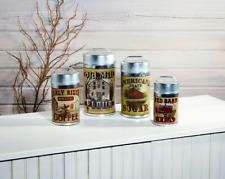 Vintage/Antique-Style Advertising Tin Primitive Americana Farmhouse Caniste